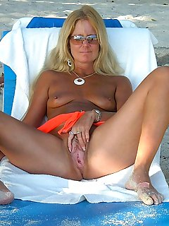 Gorgeous adrienne relaxes and plays with herself by the pool 7