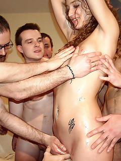 bukkake pussy thumbnail pic